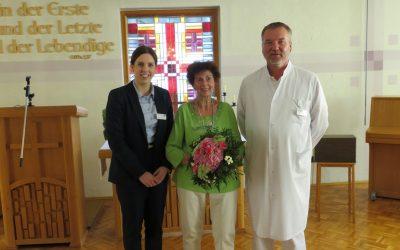 Verabschiedung unserer Patientenfürsprecherin Frau Kühn