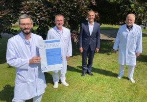 DGD Diakonie-Krankenhaus Wehrda zum AltersTraumaZentrum zertifiziert